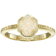 Kendra Scott Calvin Ring ($65) ❤ liked on Polyvore featuring jewelry, rings, accessories, kendra scott ring, kendra scott jewelry und kendra scott