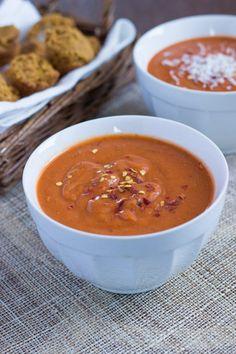 Quick & Healthy Tomato Bisque via Queen of Quinoa for Good Life Eats