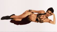 Carrie Fisher Slave Girl Princess by Dave-Daring.deviantart.com on @deviantART