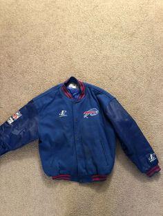 Vintage Buffalo Bills Jacket. Logo Athletic Proline Size Xl #fashion #clothing #shoes #accessories #mensclothing