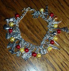 Harryy potter themed bracelet