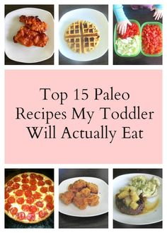 Everyone with toddlers knows how picky they can be, especially at dinnertime, so here's a helpful list of toddler friendly paleo recipes.