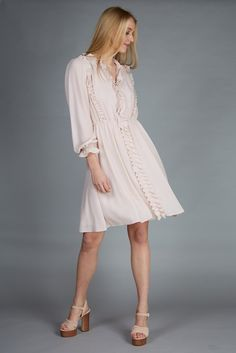 soft pink dress romantic #marccain #dress