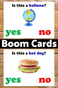 Yes No Questions Boom Cards Speech Therapy Distance Learning Special Education Activities, Autism Activities, Autism Resources, Special Education Classroom, Reading Resources, Teacher Resources, Teaching Ideas, Easter Activities, Classroom Resources