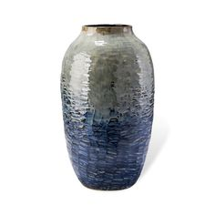 Blue Ceramic Vase Free Shipping Home Accessories Pottery Gl