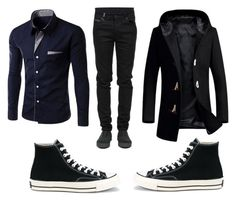 Gauthie 1 by zuzana-fajtova on Polyvore featuring County Of Milan, Converse, men's fashion and menswear