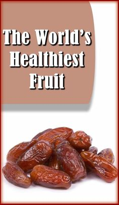 health benefits of dates ~ source of iron ~ great for eyesight ~lowers cholesterol ~ against cancer and other diseases… https://www.youtube.com/watch?v=dzgGT8uEX8I
