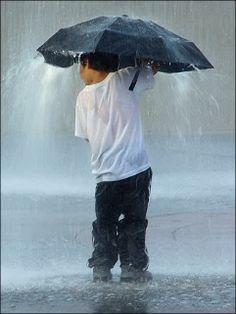 Raining ...