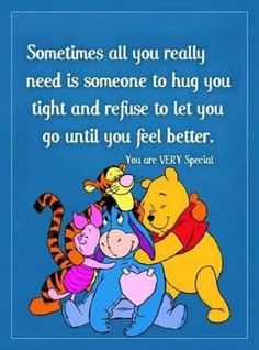 59 Winnie the Pooh Quotes – Awesome Christopher Robin Quotes 59 Winnie the Pooh Quotes Awesome Christopher Robin Quotes 13 Winne The Pooh Quotes, Eeyore Quotes, Hug Quotes, Best Quotes, Life Quotes, Funny Quotes, Movie Quotes, Qoutes, Tattoo Quotes