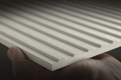 Equitone [lines], the 3D linear facade material that changes with light and shadow, is now available in Lt 90, white. Request your samples NOW! Equitone Facade #australianarchitecture #cladding