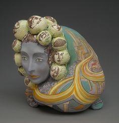 Mission Artists Art : Memories of Big City by Natasha Dikareva Ceramic Figures, Artist Art, Art Forms, Unique Art, Sculpting, Art Pieces, Pottery, Memories, Statue