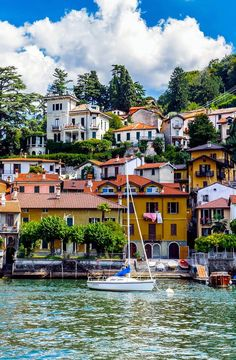 Torno, Province of Como, Lombardy region, Italy
