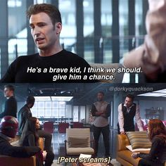 Tonys face at the end like: ITS MY SON WE ARE TALKING ABOUT PLEASE RESPECT! . . . . Follow @dorkyquackson for more! . . . . . #TomHolland #RobertDowneyJr #ChrisEvans #PeterParker #ScarlettJohansson #NatashaRomanoff #Avengers #Marvel #Mcu #Like4Like #Follow4Follow #CivilWar #SpidermanHomecoming #InfinityWar #Spiderman #IronMan #CaptainAmerica #BlackWindow #Scene #SceneEdit #Superfamily #Stony