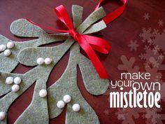 stayathomeartist.com: make your own mistletoe tutorial...