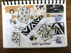 Doodling on Agenda page Molly Godwin