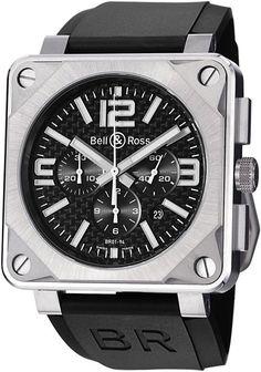 Bell & Ross BR01-94 Pro Titanium Carbon Fiber Dial