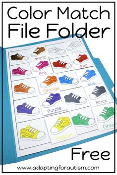 free file folder activity pack is full of basic concepts practice for your special education or speech therapy students Includes many visual supports for your students wi. Special Education Activities, Special Education Classroom, Educational Activities, Toddler Activities, Preschool Activities, Autism Preschool, Colour Activities, Autism Education, Waldorf Education