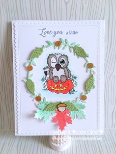 Fall Coffee Lover's Blog Hop – Maria Russell Designs