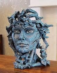 """Afbeeldingsresultaat voor """"Griggs"""" Head sculpture.....ig dacht.....alweer een Medussa?? ha ha"""