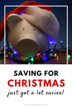 If you want to have a stress free and debt free Christmas then you need a plan! Specifically a Christmas savings plan! Grab your Christmas budget workbook right here so you can see your progress on saving money for Christmas. Better yet, start early (like in the summer), so you can save a small doable amount every week. There are fun and festive cash envelopes to help you budget during the holidays too!#christmassavingsplan #christmasbudget #moneyforthemamas
