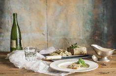 Karlos Arguiñano, Cooking The Chef, pastel de espárragos verdes, SALSA DE SETAS, SALSA DE PIMIENTOS DEL PIQUILLO