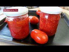 Pomidory jak z puszki (krojone i w całości) :: Skutecznie.Tv [HD] Savoury Baking, Kitchen Hacks, Preserves, Salsa, Veggies, Cooking, Recipes, Food, Bread