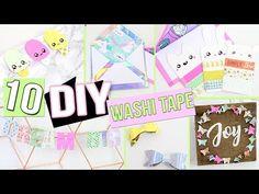 Diy Washi Tape Crafts, Washi Tape Uses, What Is Washi Tape, Masking Tape, Tape Art, Diy Francais, Desk Organization Diy, Craft Room Decor, Diy Back To School