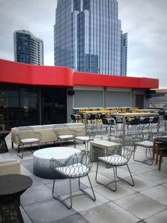Nashville Underground, massive bar co-owned by Gavin DeGraw, opens Nashville Bars, Booth Seating, Outdoor Furniture Sets, Outdoor Decor, Interior Design Studio, Second Floor, Gavin Degraw, Hospitality, Projects