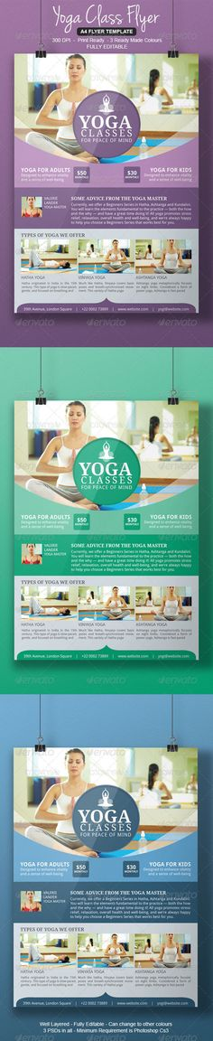 Yoga Flyer Template