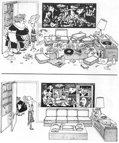 comic about picasso - Google Search