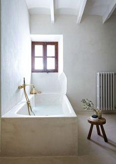 Plaster Bathroom - Plaster Bathtub