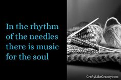 Knitting Needles and their rhythm is music for the soul | Ideas for inspiring your creativity | Knitting | Crochet | Cooking | Crafty Like Granny -   About Emily - Editor Crafty Like Granny    Hi my name is Emily. Thanks for stopping by 🙂 I have recently got back into craft after a lapse of a few years. The aim with my website is to reduce the amount of time people have to search for fantastic, helpful information, inspirational reading and craft news.