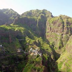 Cape Verde Islands. My brother's mission!