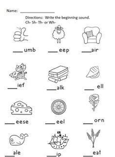 Enjoy Teaching English: DIGRAPHS (CH,SH,TH)   sound chart ...