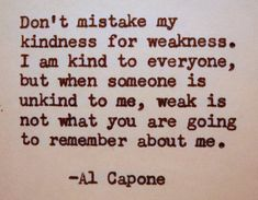 AL CAPONE Quote Typed on Typewriter by PoetryBoutique on Etsy