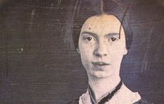 only authenticated photograph of Emily Dickinson in existence, taken by William C. North ca. 1847 when Dickinson was 17 years old (Public Domain Review)