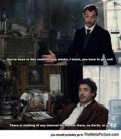 I Know That Feel, Sherlock