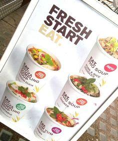 Eat soups Yogurt Recipes, Juice Recipes, Asia Restaurant, Juice Store, Fresh Eats, Mason Jar Meals, Yogurt Cups, Cafe Menu, Food Packaging Design