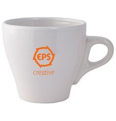 Give your marketing campaign a boost with this 5 oz Ceramic Espresso Mug!
