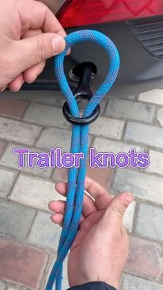 Survival Knots, Survival Tips, Survival Skills, Paracord Knots, Rope Knots, Rope Crafts, Diy Crafts Hacks, Fishing Hook Knots, Sailing Knots