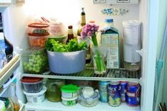 Fridge Tips to reduce food waste and save on electricity.