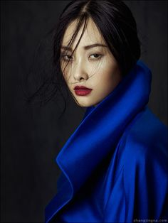 Phuong My FW13/14 Collection: Flowers in December by Jingna Zhang, via Behance