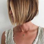 Middle Parted Layered Bob Haircut Explore the ideas of sporting short layered hair if you are about to freshen up your style! See how your new texture can change your look for the better. Classy Hairstyles, Long Bob Hairstyles, Layered Hairstyles, Hairstyles 2018, Undercut Hairstyles, Pixie Haircuts, Braided Hairstyles, Wedding Hairstyles, Short Hair With Layers