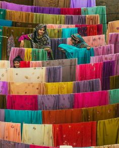 Textiles Drying In Bahawalpur, Punjab, Pakistan N – E). The Punjab region is the economic heart of Pakistan. The textile industry accounts for more than half of exports and 20 percent of the workforce. This sector, however, faces. World Of Color, Color Of Life, We Are The World, Wonders Of The World, True Colors, All The Colors, Bright Colours, Arthus Bertrand, Textiles