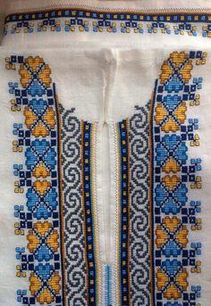 2 Cross Stitch Borders, Cross Stitching, Cross Stitch Embroidery, Hand Embroidery, Cross Stitch Patterns, Modern Embroidery, Embroidery Patterns, Palestinian Embroidery, Art N Craft