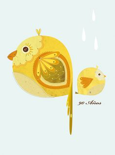 Aves //// Birds by CEROKER , via Behance