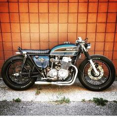 this will kill - overboldmotorco: Outstanding! Cb750 Cafe Racer, Cafe Racer Bikes, Honda 125, Honda Bikes, Honda Cb750, Honda Scrambler, Brat Bike, Cafe Racer Motorcycle, Cb 450