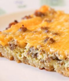 This easy sausage breakfast casserole is is one of our best breakfast recipes! You can make this overnight breakfast casserole the day before. Easy Breakfast Casserole Recipes, Overnight Breakfast Casserole, Breakfast Casserole Sausage, Crescent Roll Breakfast Casserole, Cresent Rolls Breakfast, Overnight Egg Bake, Easy Egg Casserole, Easy Egg Bake, Christmas Breakfast Casserole