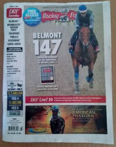 August   Daily Racing Form Shared Belief  Pacific Classic