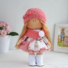 Bambola interni del bambola Tilda giocattolo di AnnKirillartPlace